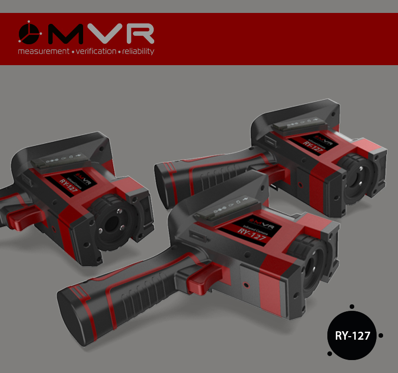 Тепловизор RY-127 MVR, Окна прозрачности атмосферы, приборы для энергоаудита, обучение